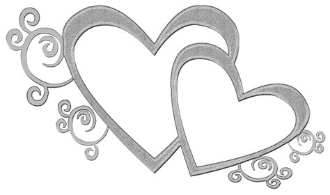 silver wedding clipart png  cliparts