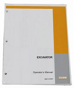 Case Cx36b Compact Crawler Excavator Owners Manual