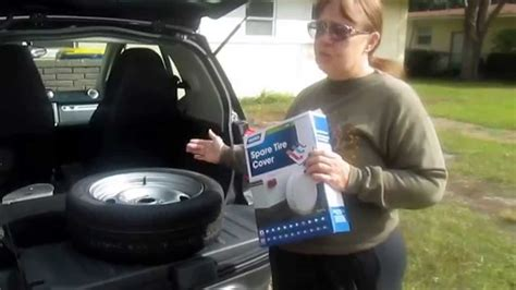 smart fortwo spare tire   cover product review youtube