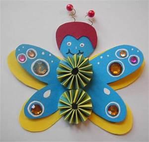Schmetterling Basteln Papier : schmetterling basteln basteln rund ums jahr ~ Lizthompson.info Haus und Dekorationen