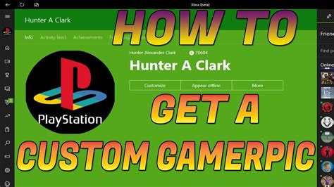 How To Get A Custom Gamerpic On Xbox One New No Glitch