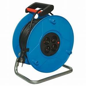 Enrouleur De Cable Electrique : enrouleur de c ble lectrique standard 25 50 m ~ Edinachiropracticcenter.com Idées de Décoration