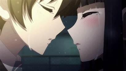 Kiss Anime Album Haruki Touma Kazusa Kitahara