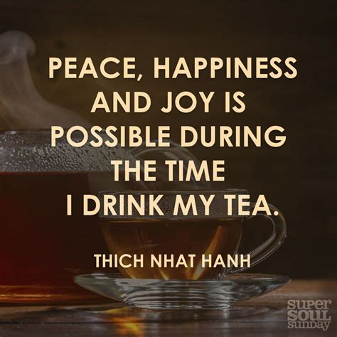 thich nhat hanh quote on tea buddhismus buddha