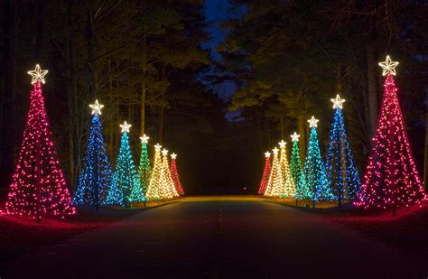 fantasy in lights at callaway gardens a spectaular light