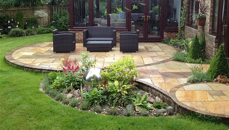 pictures of garden patios patio design and natural stone walling landscape garden designers reading berkshire pete sims