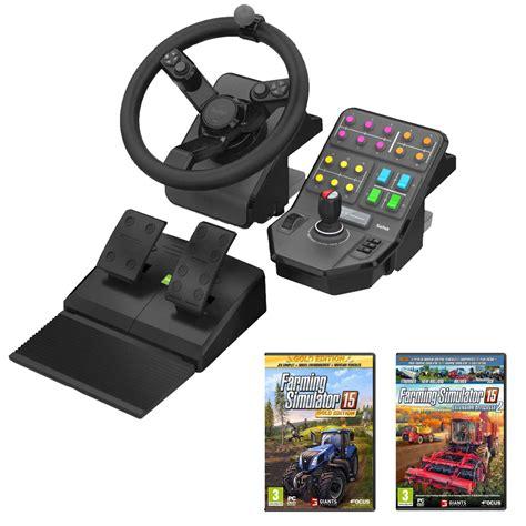 volante pc farming simulator 15 fan pack bundle achat vente