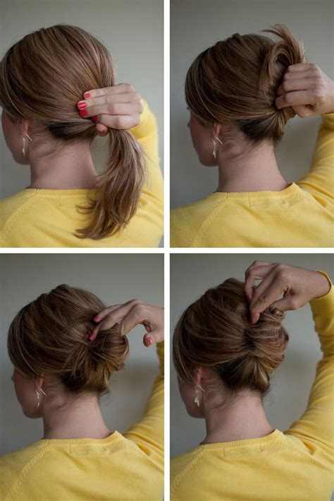 hairstyle how to easy french roll hair ideas hair