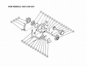 Singer 1019 Mechanical Sewing Machine Parts