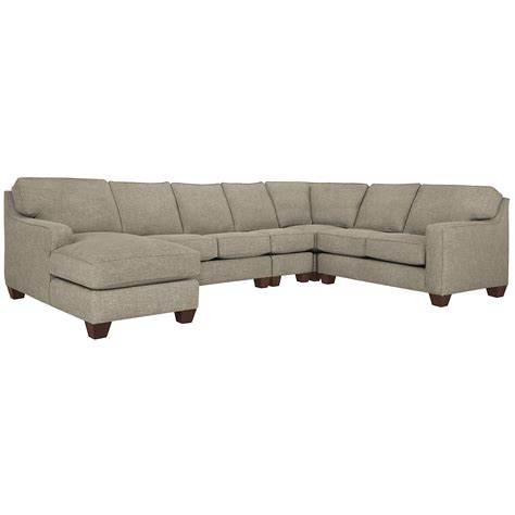 chaise york city furniture york pewter fabric large left chaise sectional