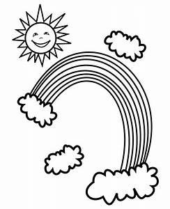Regenbogen Zum Ausmalen : ausmalbilder von regenbogen ausdrucken malvorlagen kostenlos cliparts free bilder kostenlos ~ Buech-reservation.com Haus und Dekorationen