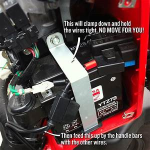 Connecting A Battery Tender To A Honda Ruckus