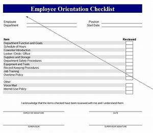 New Employee Checklist
