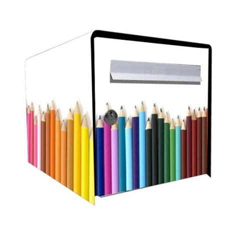 stickers bo 238 te aux lettres d 233 co crayons