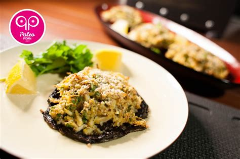 Directions preheat oven to 375°f. Paleo Crab Stuffed Portobello Mushrooms - Paleo Porn: Steamy Paleo Recipes