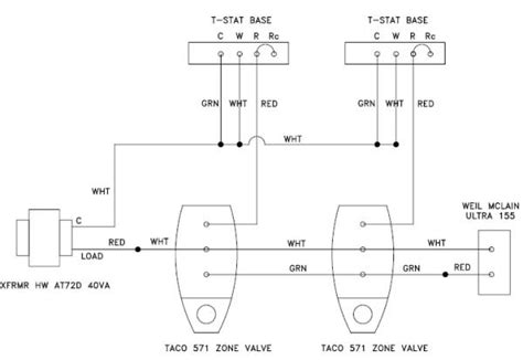 wiring configuration adding common with zone valves doityourself community forums