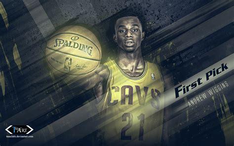 andrew wiggins cavs  pick  wallpaper basketball