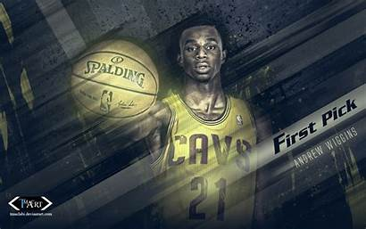 Andrew Wiggins Cavs Pick Cavaliers Basketwallpapers Cleveland