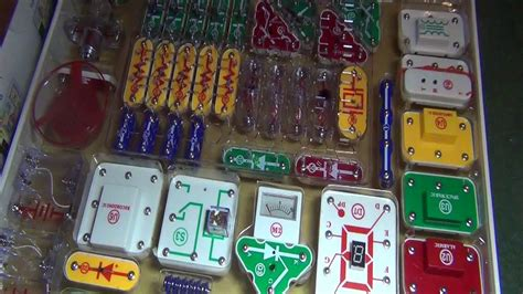 Snap Circuits Extreme Full Look Youtube