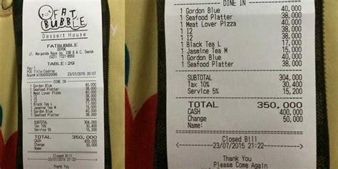 Aborsi Malang Makan Di Fat Bubble Kasir Seenaknya Bulatkan Bill Jadi Rp