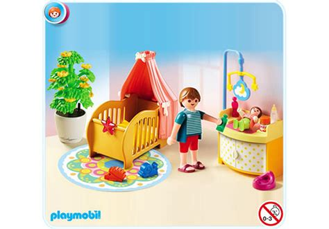 chambre de bébé playmobil chambre de bébé avec berceau 5334 a playmobil