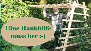 Rankhilfe Holz Selber Bauen : rankhilfe selber bauen hokkaido k rbis diy youtube ~ Watch28wear.com Haus und Dekorationen