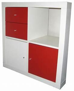Meuble Casier Blanc : meuble de rangement ikea ~ Teatrodelosmanantiales.com Idées de Décoration