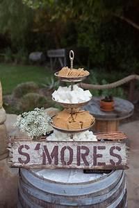 15, Sweet, S, U2019mores, Bar, Wedding, Food, Station, Ideas