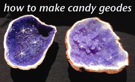 how do you make rock rock candy edible geode how to cook that rock candy recipe ann reardon youtube