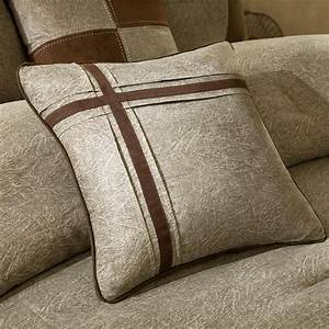 Beautiful, Modern, 7pc, Soft, Brown, Tan, Beige, Cozy, Cabin, Casual, Taupe, Comforter, Set