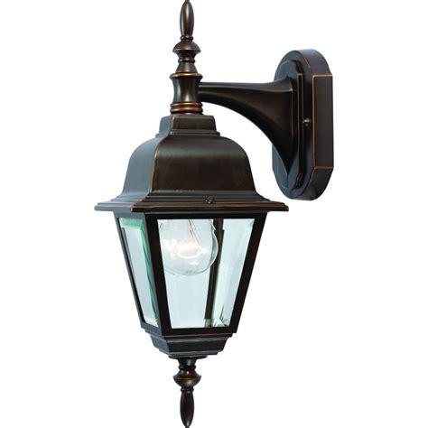 outdoor patio porch rust exterior light fixture
