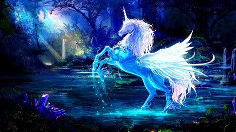 Permalink to Free Fantasy Unicorn Wallpaper