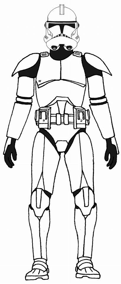 Clone Wars Trooper Ausmalbilder Phase Company Tango