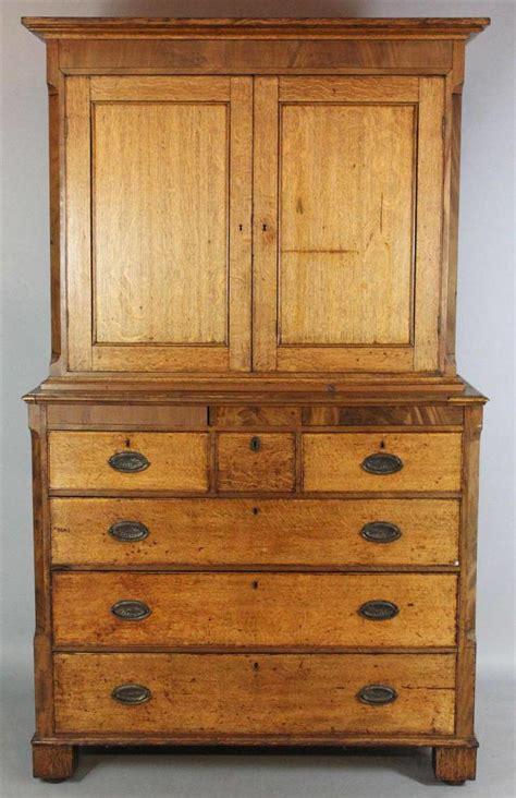 antique linen cabinet chest 1800s oak late va pick springfield english press attic source info