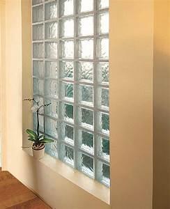 conseils de montage d39un mur en pave de verre With comment poser des carreaux de verre