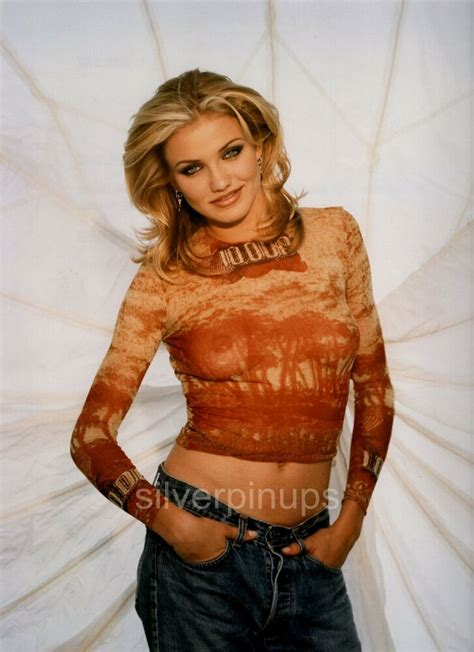 orig 1994 cameron diaz risque glamor quot the mask quot debut portrait ebay