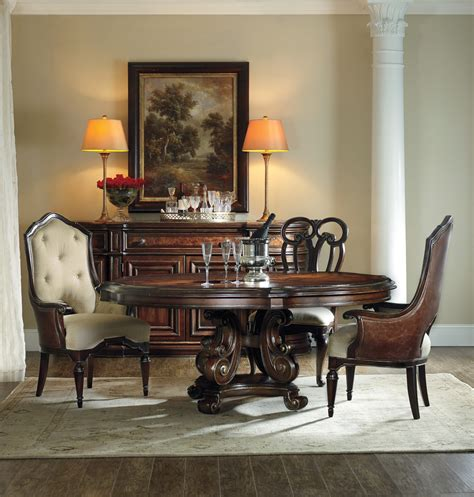 The Grand Palais 72 Inch Round Table Dining Room Collection