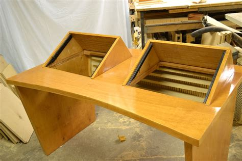 Custom Audio Minimalis buy a crafted recording studio desk made to order