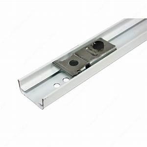 rail pour mecanisme de porte pliante quincaillerie richelieu With rail pour porte pliante