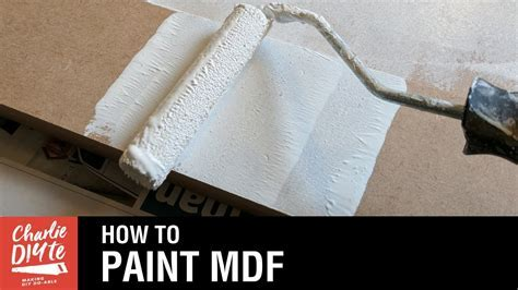 How to Paint MDF   Video #1   YouTube