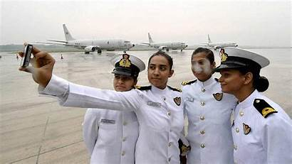 Navy Indian Officers Naval Lady Force Air