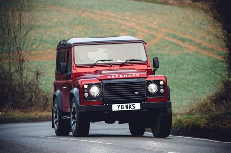 The Land Rover Defender Works V8 Edition
