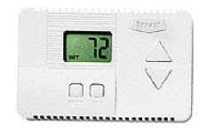 best of sale thermostat by bryant for residential 6 wire heating cooling heat non