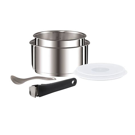 tefal l9409142 ingenio 6 stainless steel set freenet electrical