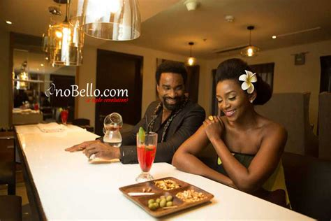 Such A Hot Pair More Photos From Genevieve Nnaji And Oris