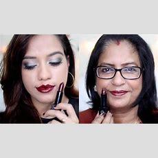 Nykaa So Matte Winter Lipstick Swatches  Debasree