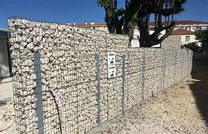 Mur De Cloture En Gabion : mur de cloture en gabion best gabionkit optimized mur de ~ Edinachiropracticcenter.com Idées de Décoration