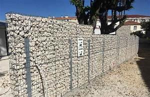 Palissade Anti Bruit : am nagement paysager en gabions mur gradins mur anti ~ Premium-room.com Idées de Décoration