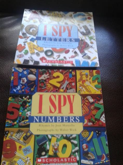 I Spy Letters And I Spy Numbers Picture Books Scholastic
