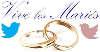 dessin de mariage vive les mariés